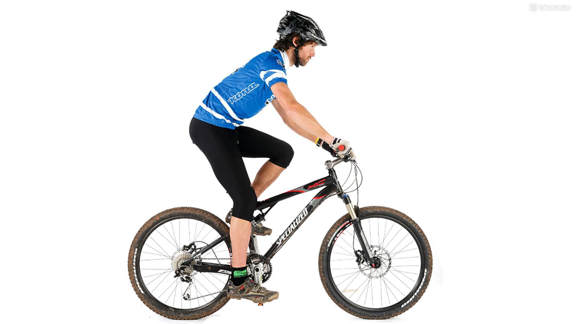 asiento de tu bicicleta a la altura correcta