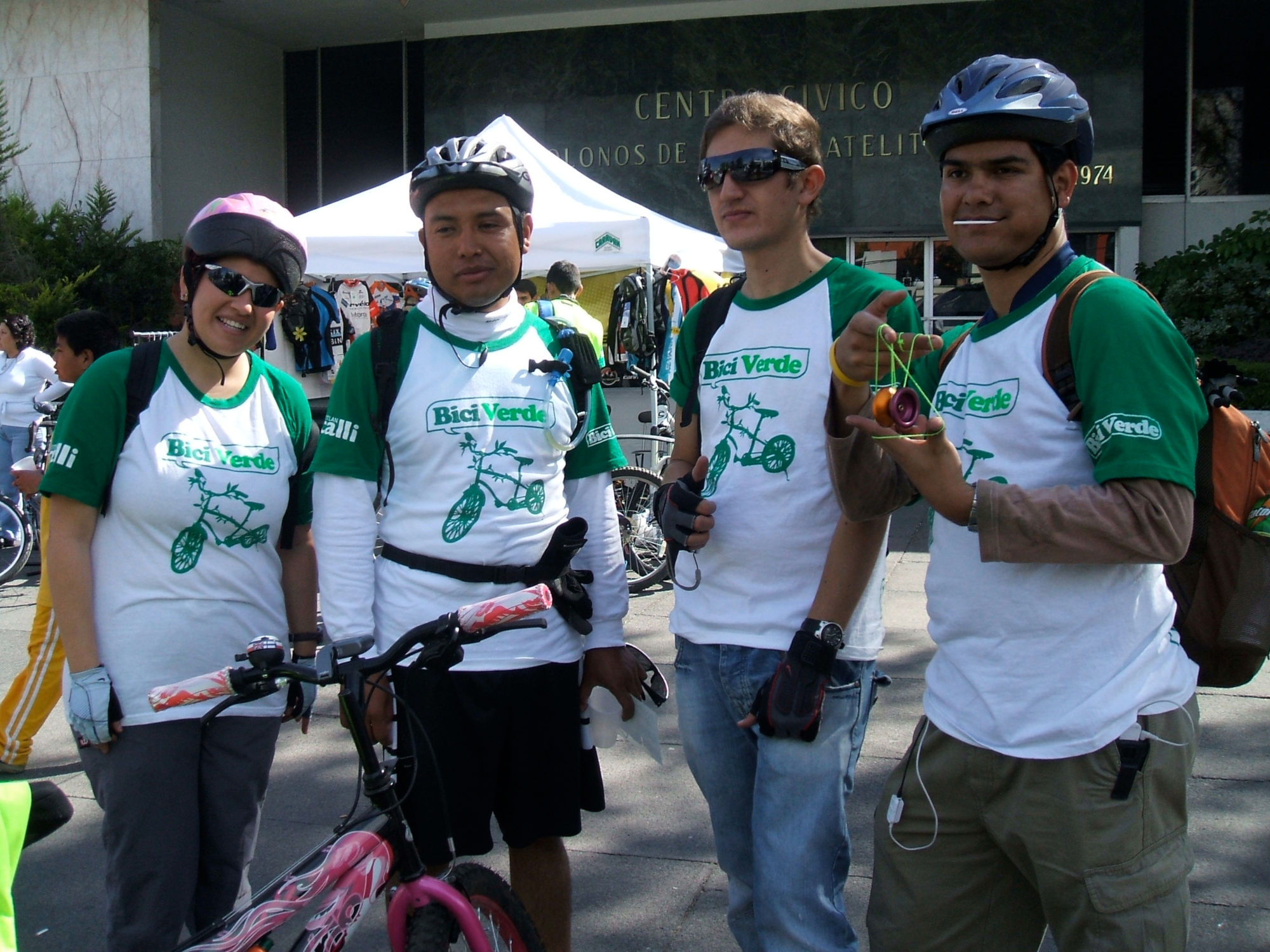Paseo en Bicicleta de Ciudad Satélite