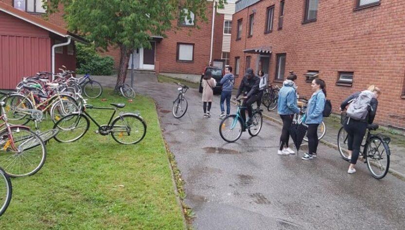 bicicletas abandonadas