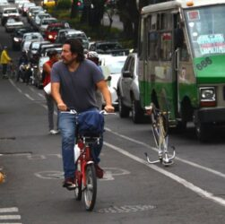 ciclovías emergentes en la cdmx