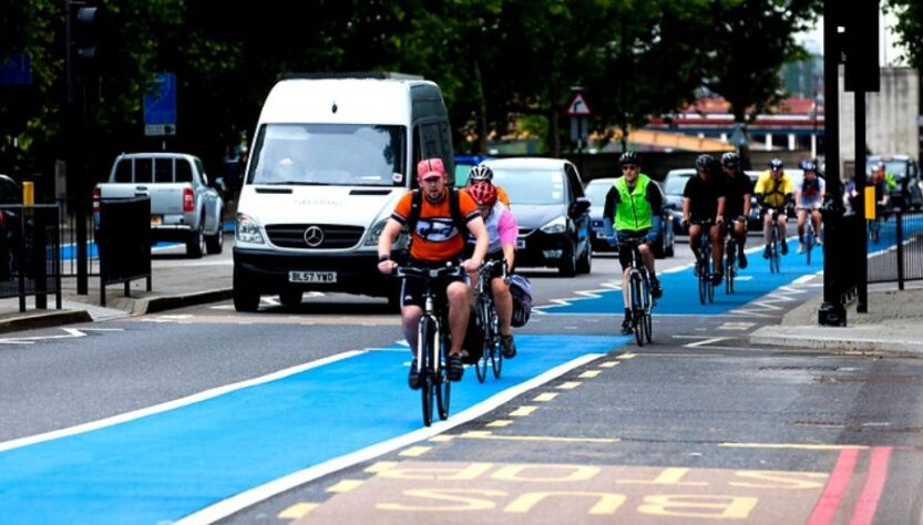 impulsar la bici en UK