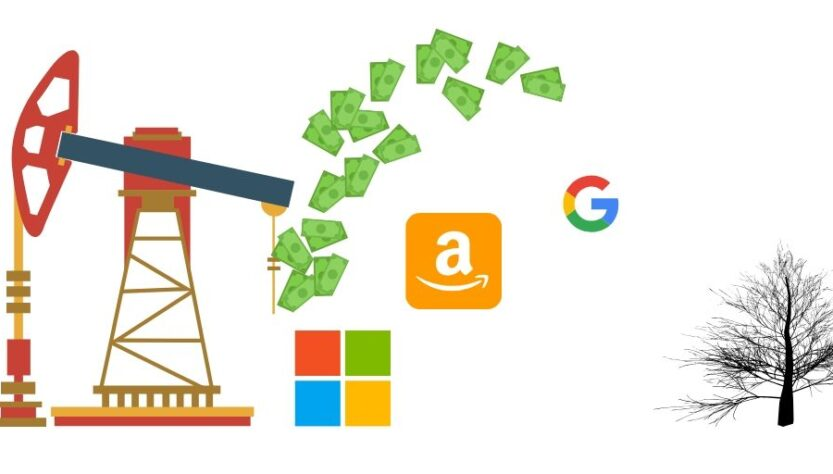 Microsoft - google petróleo