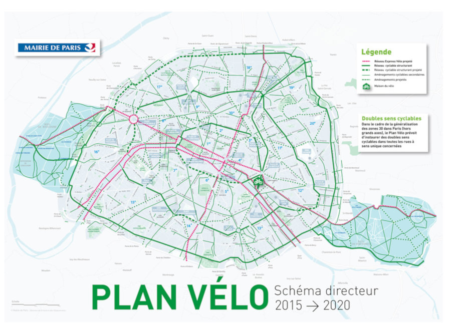 Plan Vélo impulsado por Anne Hidalgo