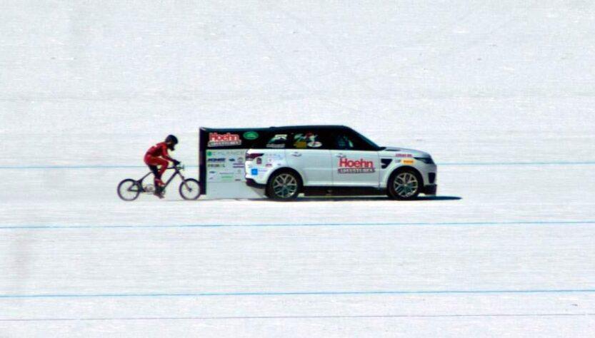 Récord del mundo velocidad en bicicleta
