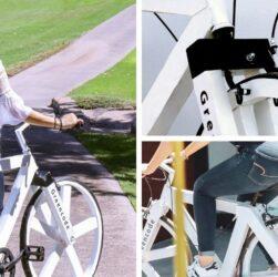 GC1 bicicletas de papel kraft