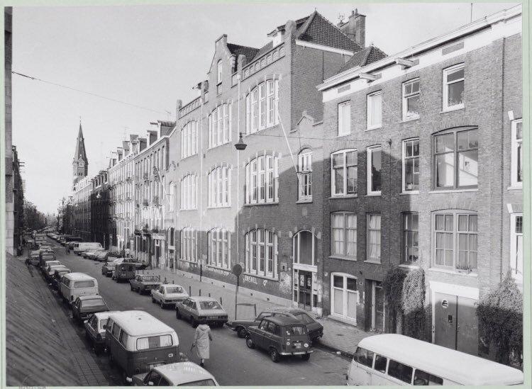 las bicicletas no se veían en las calles de Amsterdam en los años 70