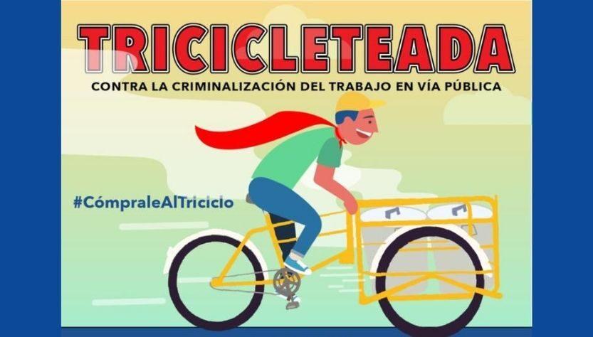 Flyer de la kermés de triciclos