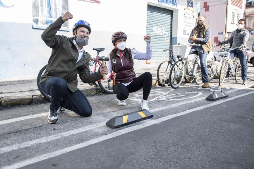 Ciclovías de emergentes a permanentes en Puebla