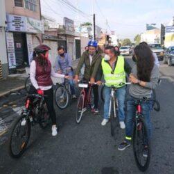 ciclovías emergentes a permanentes en Puebla