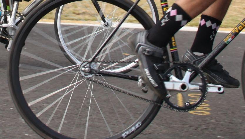 Transmisión de bicicleta de ruta