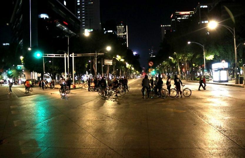 bici revolución en las calles de la cdmx