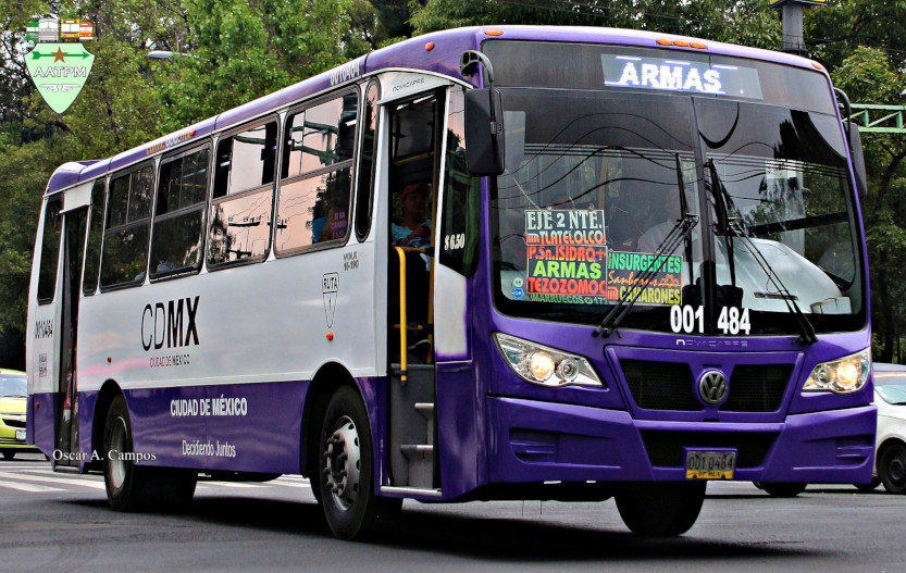 Autobús de la empresa COPESI