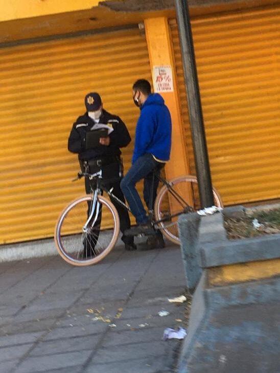 Acoso a ciclistas reportado en León Guanajuato.