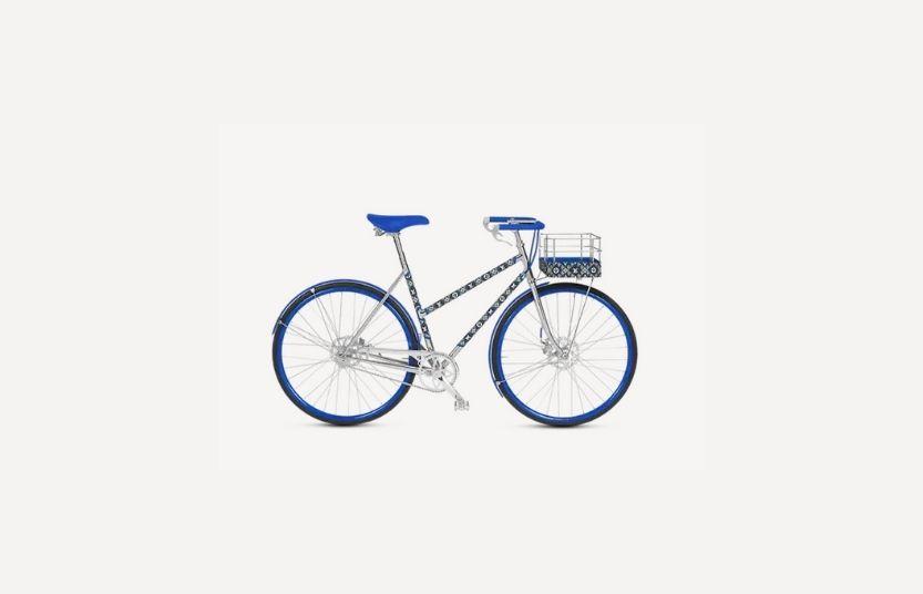 Bicicleta Louis Vuitton cuadro bajo.