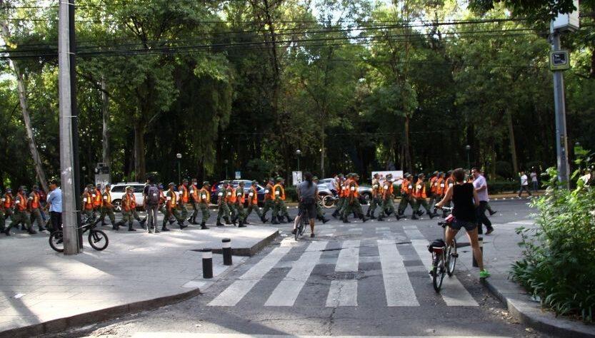 Ciclismo urbano en desastres naturales