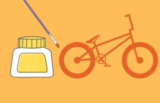 La primera bici que restauré