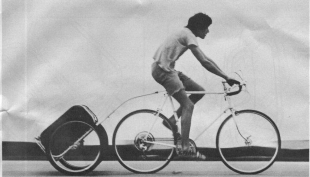 Remolque para bicicleta Bugger, de Cannondale.