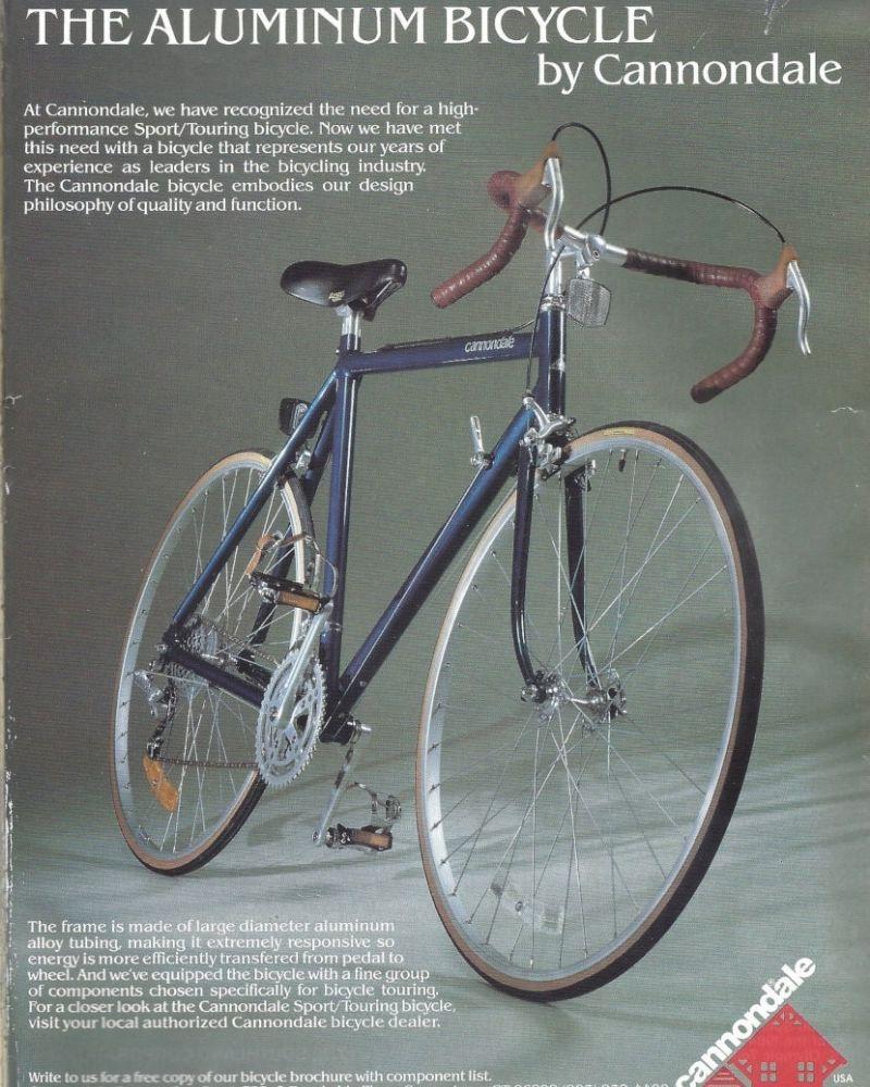 Primera bicicleta de Cannondale, la ST500
