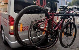 VanCiclo, una opción para subir a Santa Fe en bicicleta