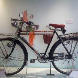 Bicicleta en la exposición Pueblo bicicletero