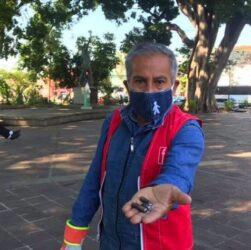 Don Manuel, miembro de Salvando Vidas