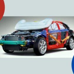 Ilustración de uno de los autos más seguros